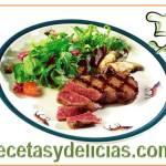 Receta de Filete de venado fresco