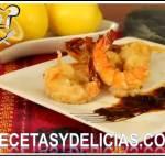Receta de Camarones gabardina