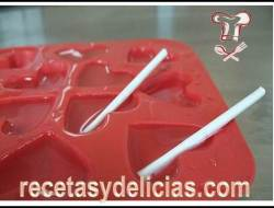 receta de chocolates corazon