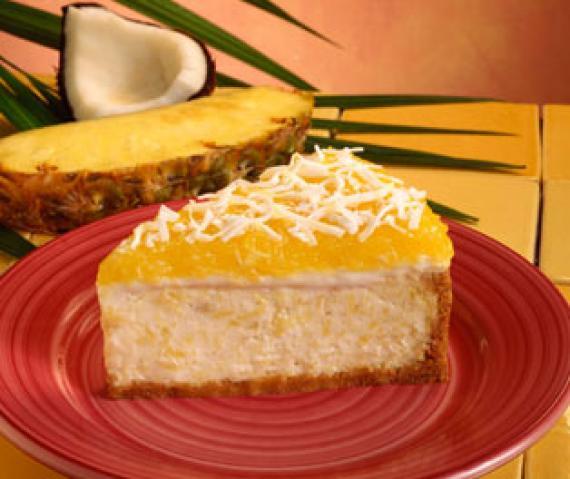 Cheese cake de piña colada