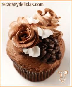 cupcake con cacao