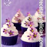 Receta de Cupcakes de Violeta