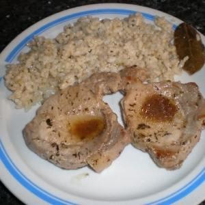 73c564de315ae81db9aaa50a11f02581 - ▷ Chuletas de cerdo con salsa de soja acompañadas con arroz blanco al laurel 🐖 🍚