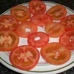 Tomates con queso de untar 1 - ▷ Tomates con queso de untar