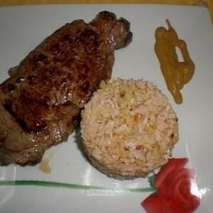 5778877be1a35482f319be586a4e5dc3 - ▷ Entrecot de buey con salteado de arroz 🐂 🍚