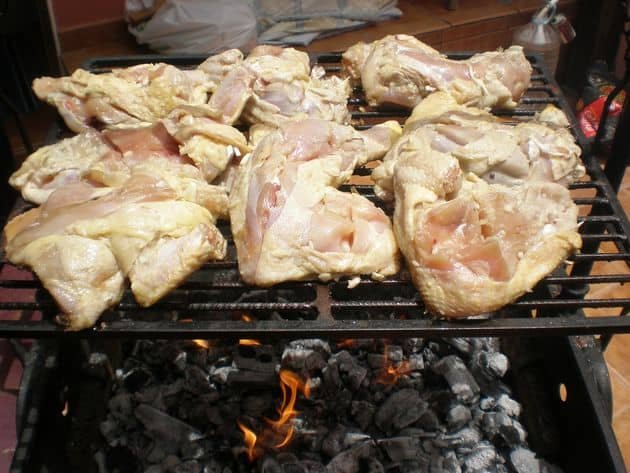Pollo a la barbacoa
