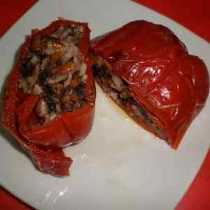 7825d940a749f0179cc7ea360c8ae6de - ▷ Pimientos rojos rellenos de morcilla dulce 👩🍳 🐷
