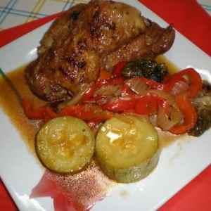 d684a5f1d6d18e9647b504aaaaf15048 - ▷ Muslos de pollo sellados con aceite de azafrán 🍗 ⚜ ⚜