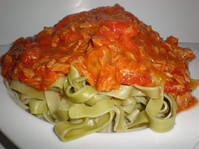 e62681383a22ece70ebf83908f7b7b5d - ▷ Pasta nidos con pimientos rojos asados 🍝