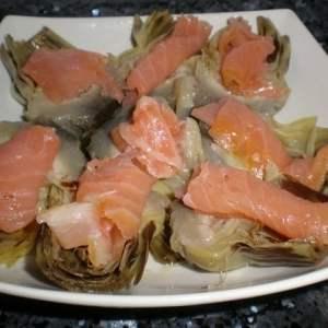 8fff24d59ce766ab65e090a401680032 - ▷ Corazones de alcachofas con salmón 😋 🐠