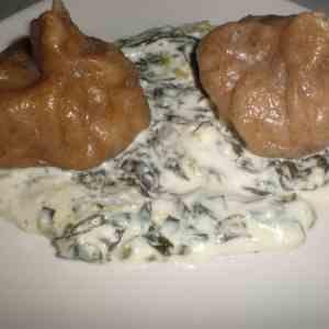 2b9b72303a195511df58deb3249f170b - ▷ Dumplings de pollo con salsa de queso ahumado 🥟 🥟