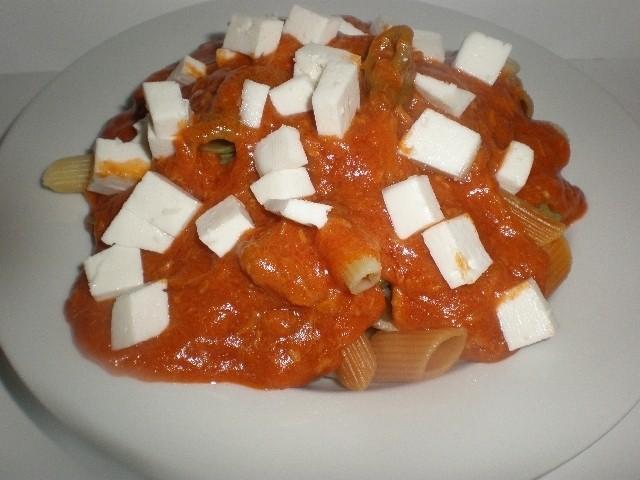 788d4790740036c255a4f0d77de6b3d2 - ▷ Macarrones vegetales con Salsa dos atunes 🍝