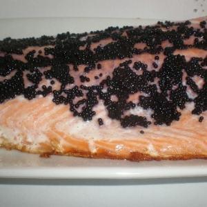 667f0bd8cc1b5671ad4f8bbe722f4deb - ▷ Salmón con sucedáneo de caviar 🐠