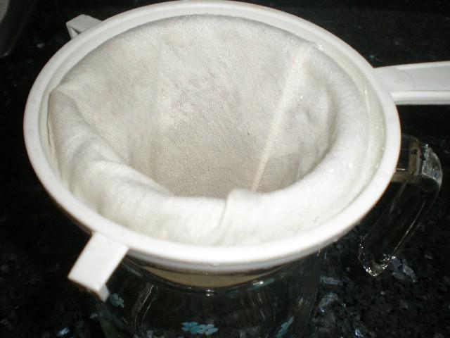 Elaborando horchata casera