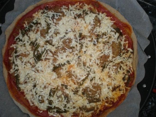 9d87a069489f64950d5506595641a422 - ▷ Pizza con paté de aceitunas verdes 🍕
