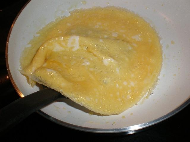 Hacer crepes de tortilla