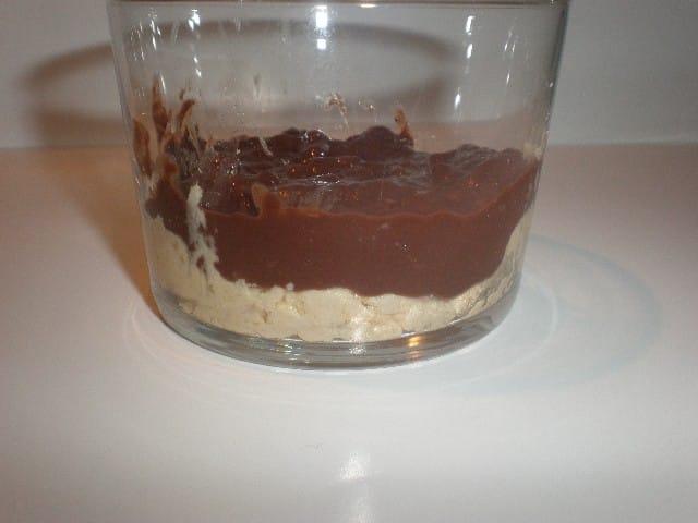 Galleta y chocolate