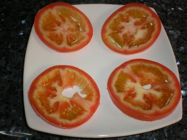 Rodajas de tomate