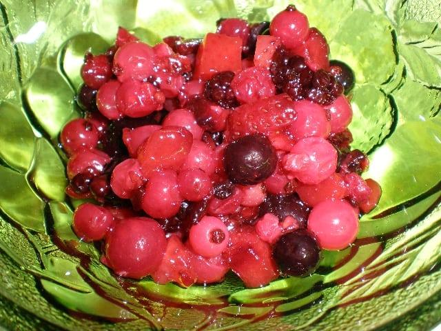 Frutos rojos para decorar la tarta