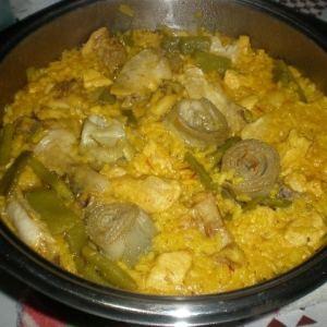 a0e38d3f19ab5c6d7770c77025949886 - ▷ Arroz con pollo y alcachofas 🥘