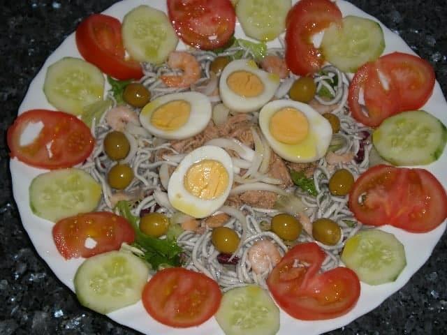 Ensalada delicias de mar