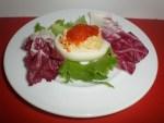 ▷ Tapa de huevo relleno 🥚 🐠