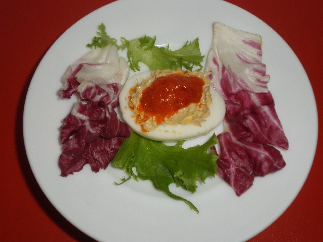 Tapa de huevo relleno 1