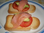 ▷ Tostadas tres sabores 🥙