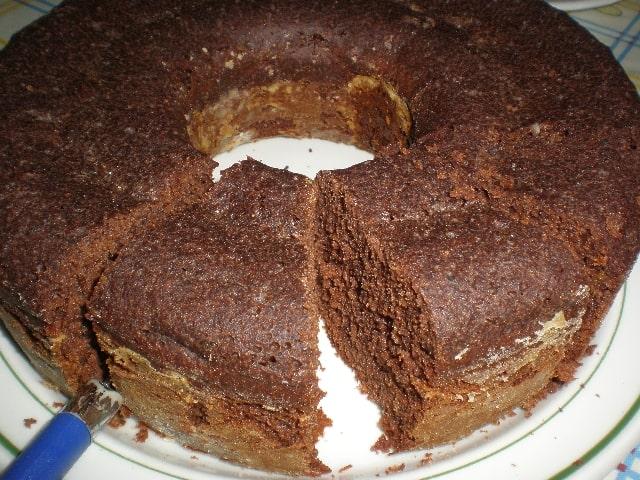 Bizcochón con cacao