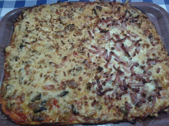9161a26aaf1549661c201609c94dcbff - ▷ Pizza de atún y bacón 🍕