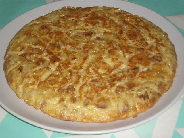 ▷ Tortilla con apio 🥚 🥚