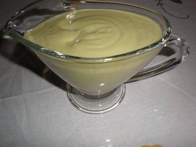 Salsa de aguacate y cilantro