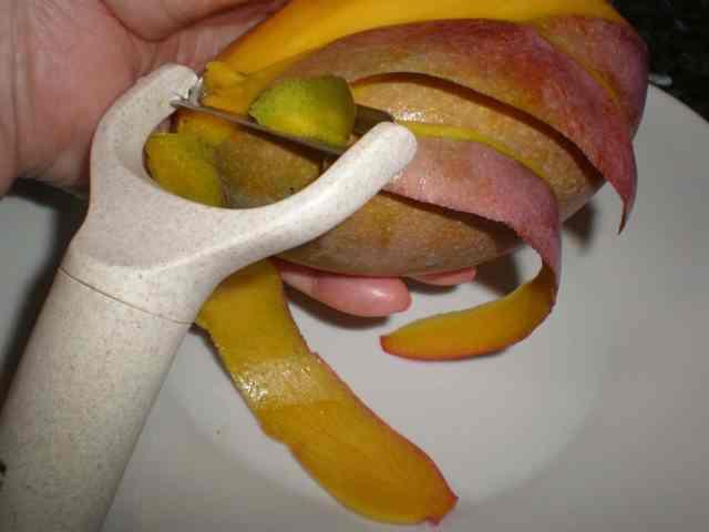 Pelar el mango