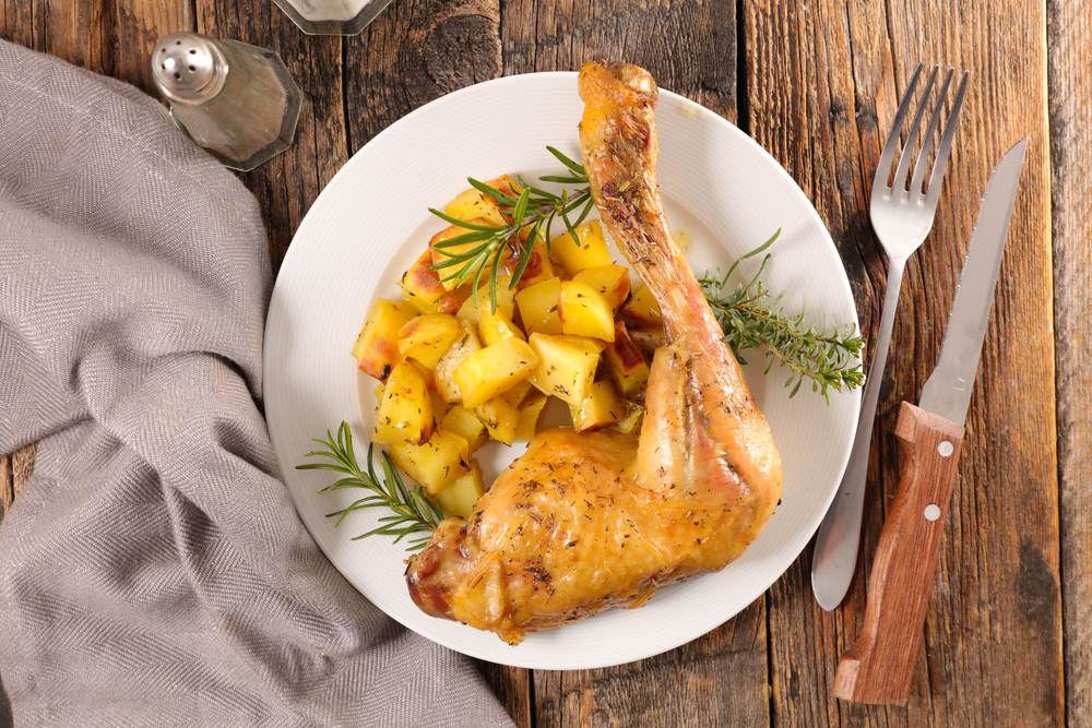 cuisses de poulet aux pommes de terre au cookeo