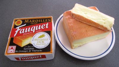 Maroilles  Fiche Maroilles et recettes de Maroilles sur Supertoinette