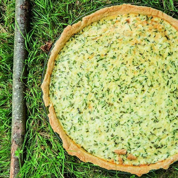 Tourte d'herbes et fromages