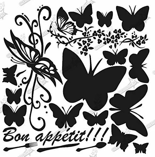 Cookeo Planche Stickers Papillon