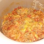 Langue de porc sauce tomate