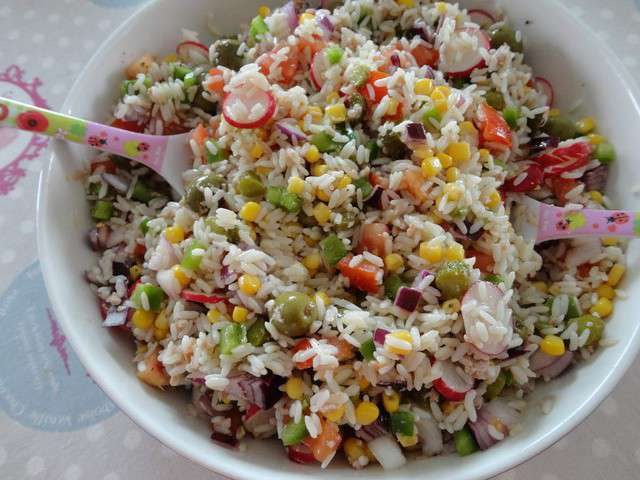Recettes De Salade Compose Et Salade De Riz
