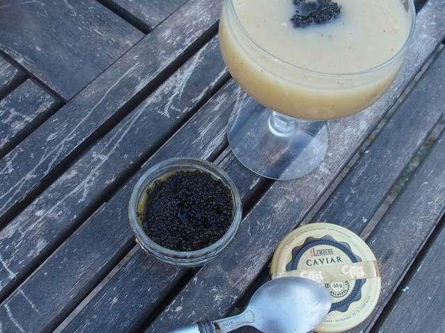 recettes de caviar et fenouil