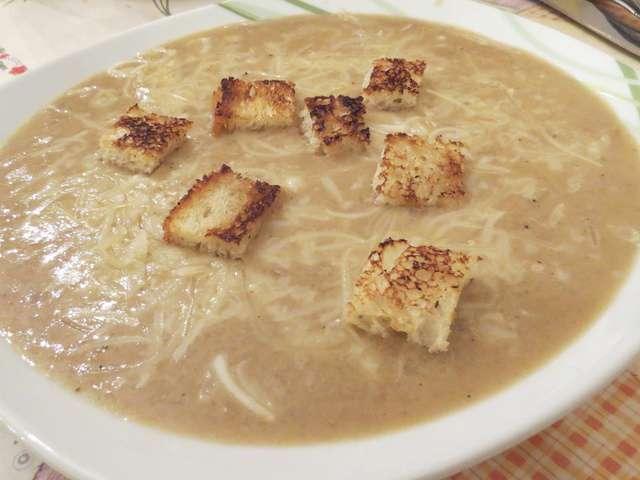 recettes de soupe a l oignon et thermomix