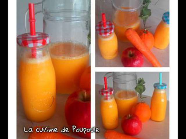 recettes de jus de fruits et thermomix