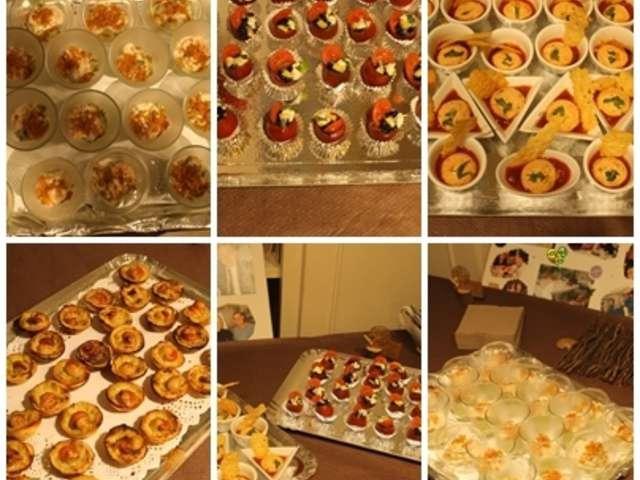 recettes d anniversaire et buffet