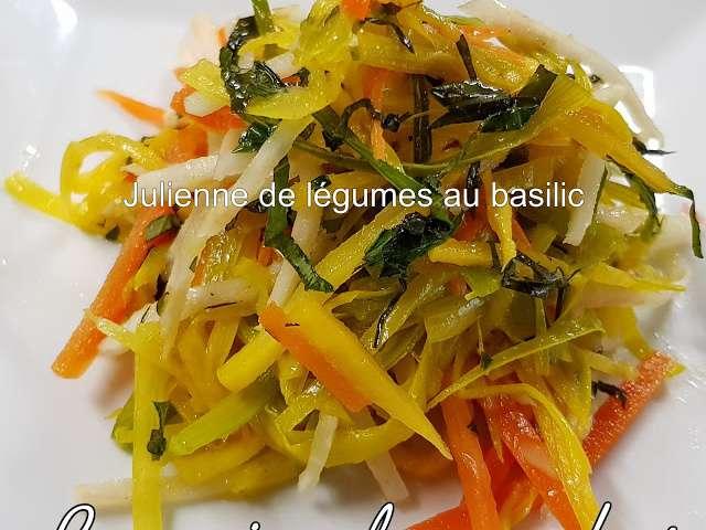 recettes de julienne de le coin de carlos