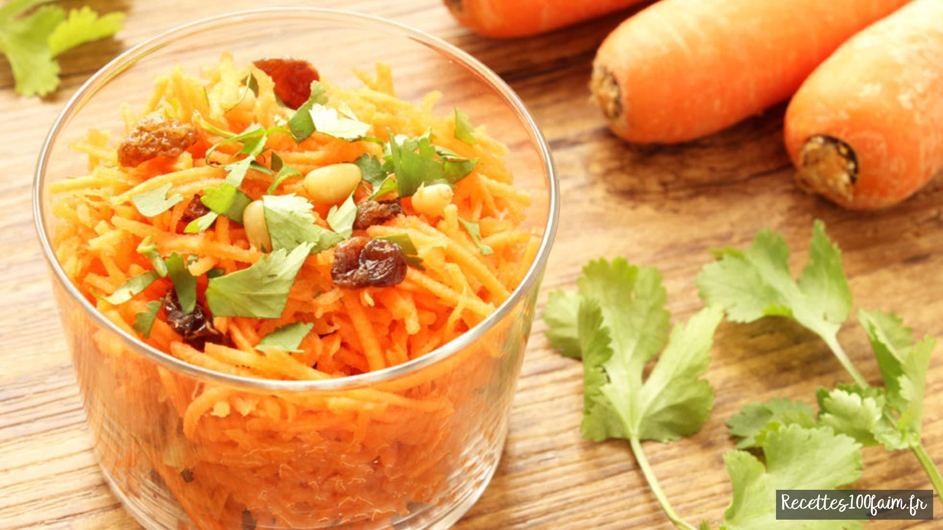 carottes rapées maison