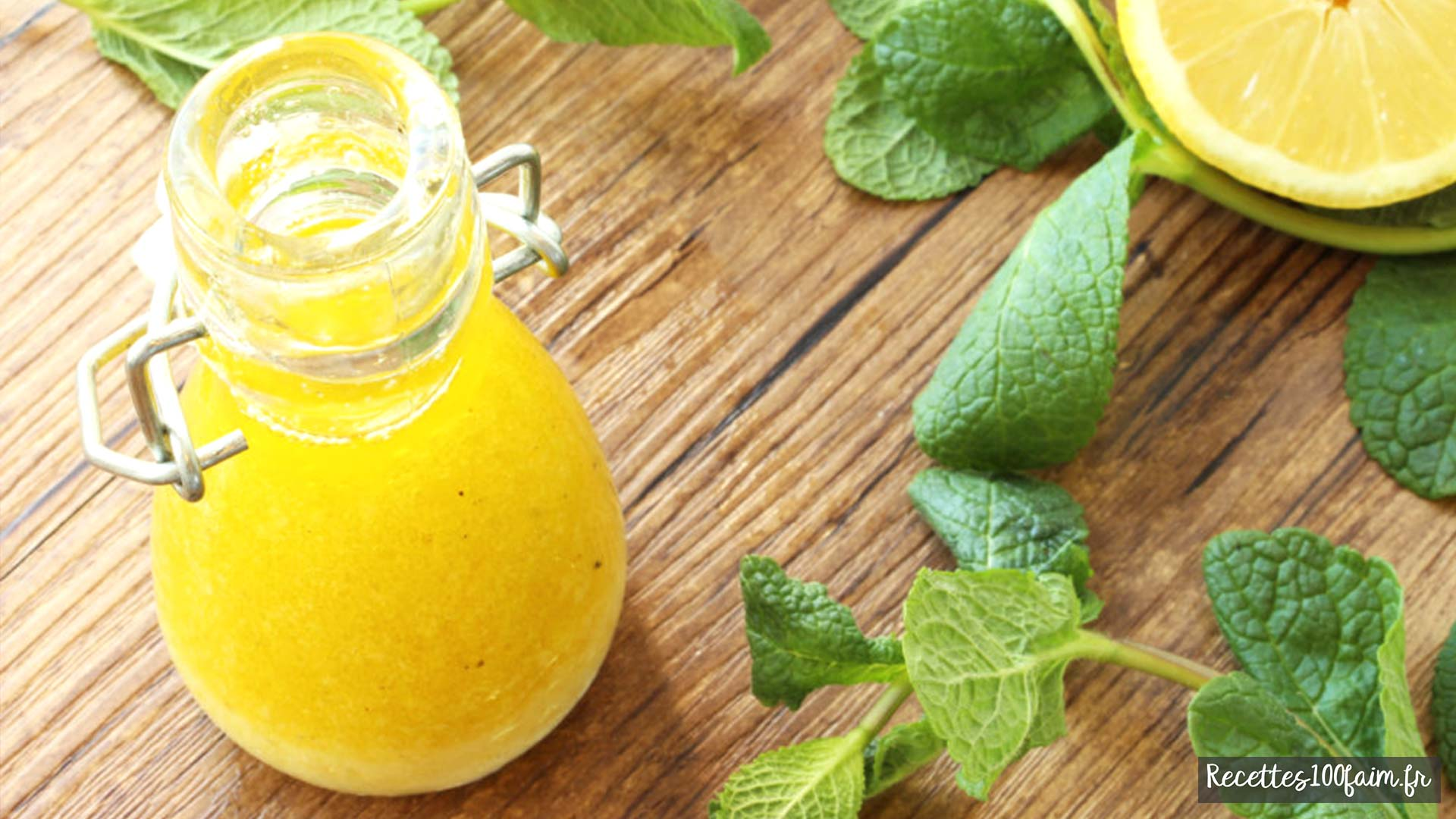 vinaigrette au citron