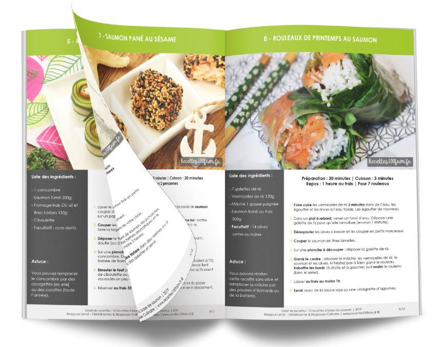 10 recettes de saumon