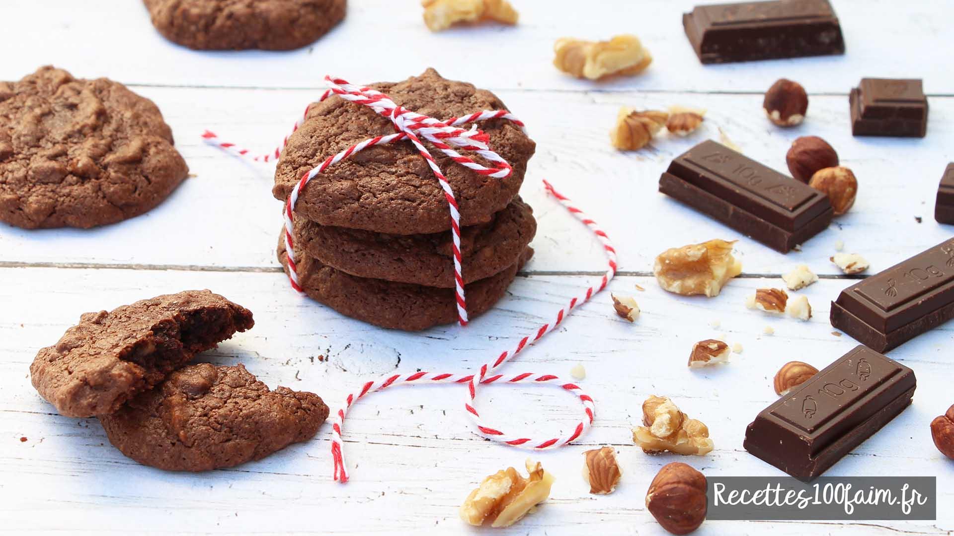 cookies fondants facon brownies