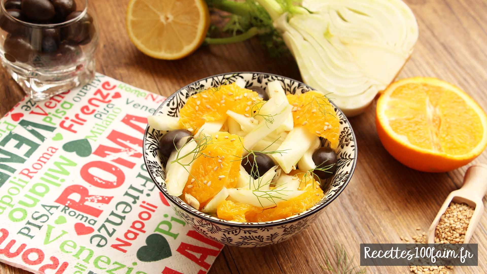 recette salade comme en italie
