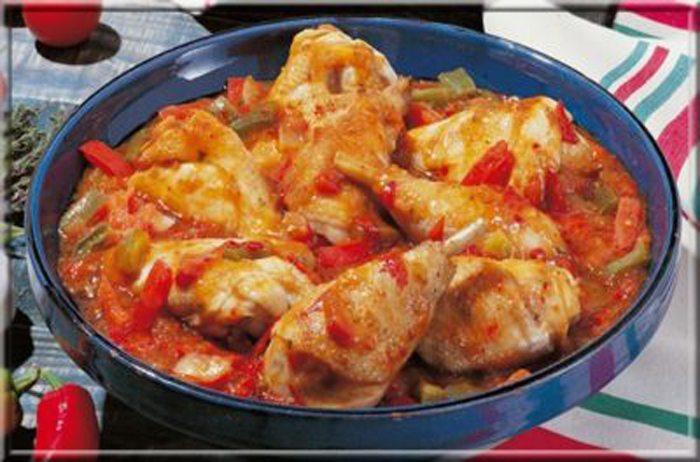 poulet basquaise recettes cookeo